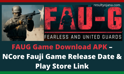FAUG Game Download APK – NCore Fauji Game Release Date & Play Store Link